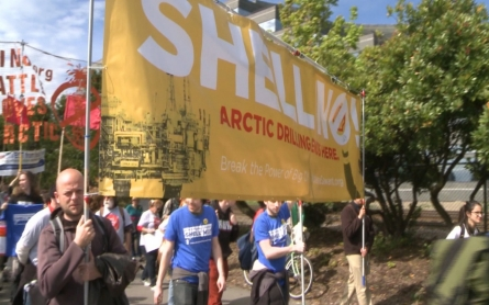 Shell to stop drilling for oil off the Alaska coast