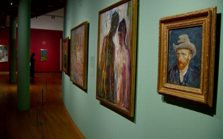 Works of van Gogh and Edvard Munch featured in new exhibit