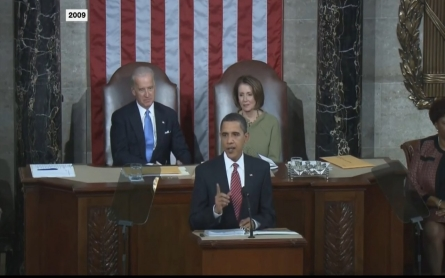 A look at Obama's first State of the Union address