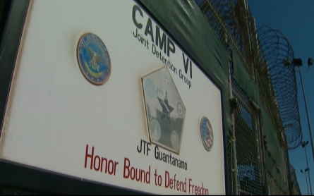 Protesters call for closure of Guantanamo Bay