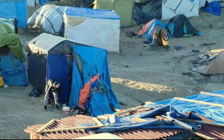 Many in Calais Camp face eviction