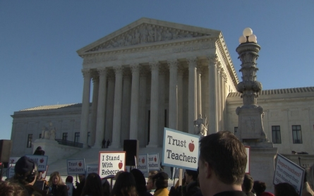 Supreme Court case could erode unions' power