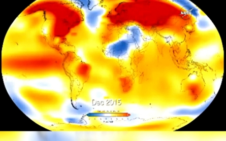 Warmest year on record was 2015
