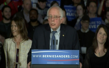 Bernie Sanders weighs in on his tight race with Hillary Clinton