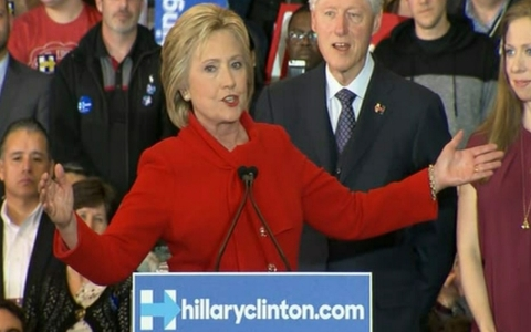 Thumbnail image for Hillary Clinton discusses her tight race in Iowa