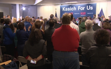 Kasich focuses efforts on winning Michigan