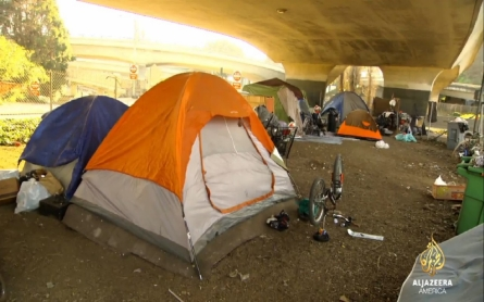 San Francisco's homeless forced to move because of Super Bowl