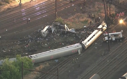 The NTSB releases documents on Amtrak crash