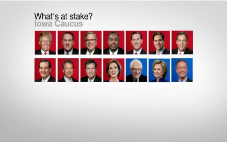 What's at stake for the candidates in Iowa?