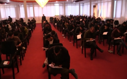 Women in Afghanistan working to attain law degrees