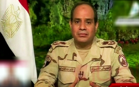 As Sisi leads polls, expert says U.S. 'chomping at the bit' to restore aid
