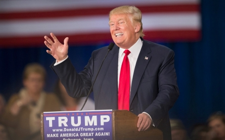 Donald Trump dominates presidential candidates' discourse