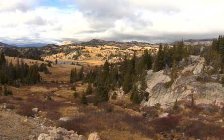 Wyoming's Beartooth Mountains permanent snowpack disappearing