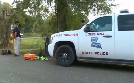 Louisiana state police arrest two officers after death of six-year-old boy
