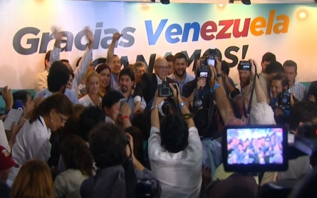 Venezuela's opposition party wins election in landslide victory
