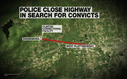 Law enforcement expands the manhunt for two escaped convicts