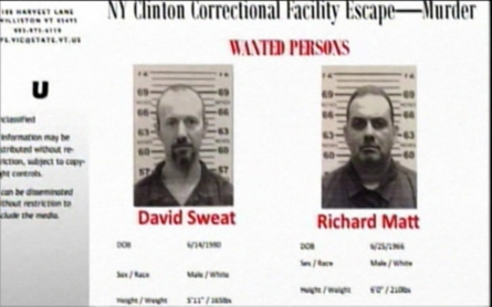 The search intensifies in New York and Vermont for missing fugitives
