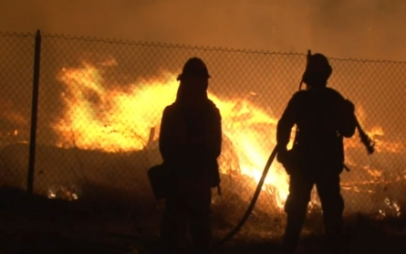 Residents visit homes charred by Valley fire
