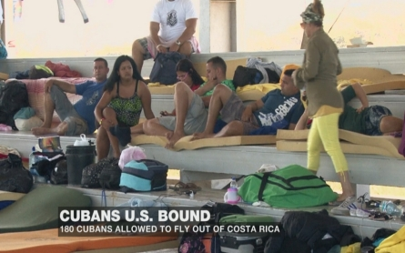 Cubans migrants US bound