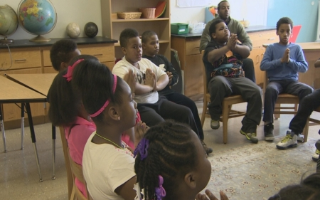 Yoga used to help kids cope with violence in Chicago