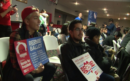 Candidates push for Latino vote at Iowa caucuses