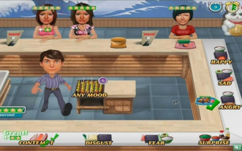 Wasabi Waiter video game