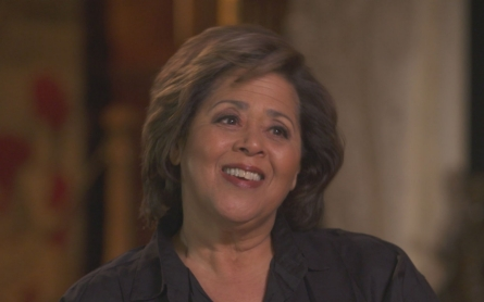 Anna Deavere Smith talks to Adam May