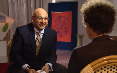 Malcolm Gladwell and Ali Velshi