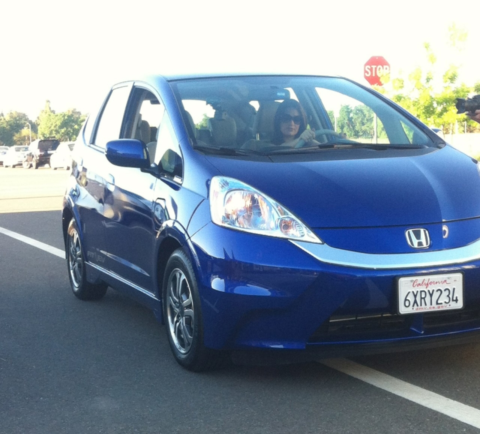 Speaking of the honda fit here i am driving it around the uc davis campus like a boss