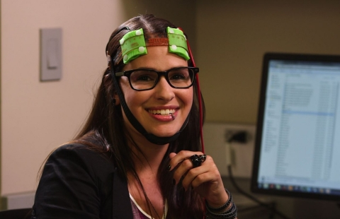 Thumbnail image for Contributor Q&A: Cara Santa Maria gets her brain stimulated