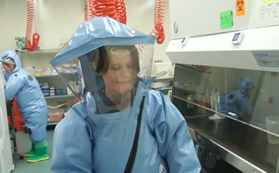 Level 4 Biohazard Suit