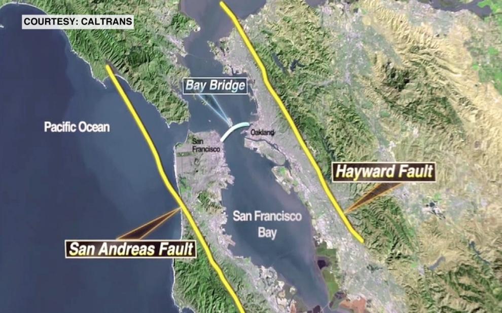 Contributor QA Marita Davison On Earthquakeproofing The Bay - San andreas fault map bay area