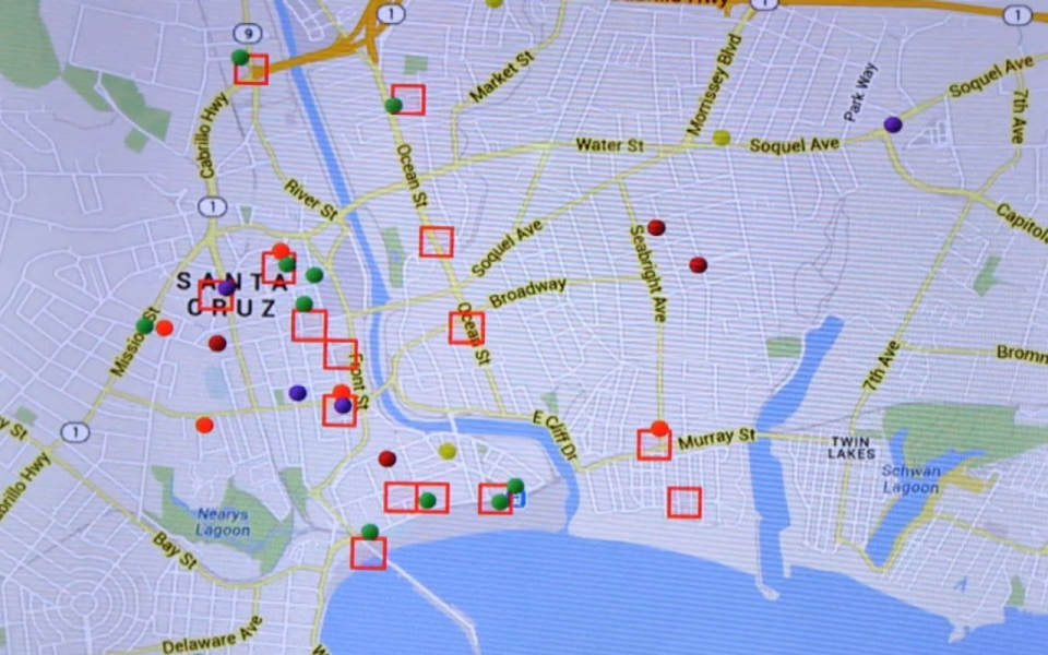 Predictive policing technology lowers crime rates in US cities