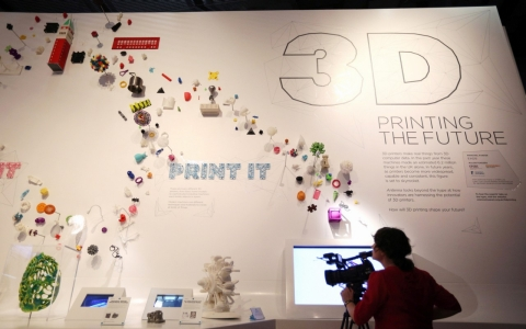 A London science museum explores the future of 3D printing.