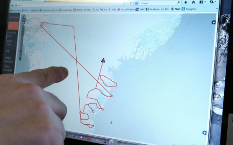Thumbnail image for NASA's 'video game' to map Arctic glaciers