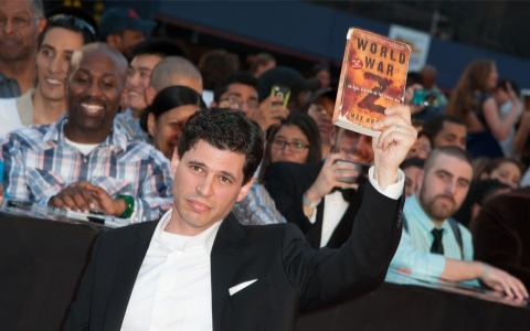Author Max Brooks attends 'World War Z' New York Premiere on June 17, 2013 in New York City. (Dave Kotinsky/Getty Images)