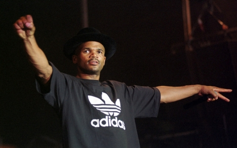 Darryl McDaniels performs at Rock Budapest on 03 August 2001. GETTY/David Greedy