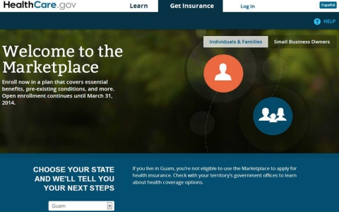 How the Affordable Care Act unequally affects U.S ... Marketplace Healthcare Gov Site