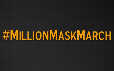 #MillionMaskMarch calls for end to political corruption