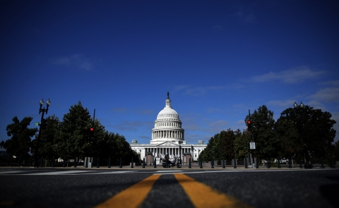 The United States Capitol building on September 29, 2013 in Washington, DC (Win McNamee/Getty Images).