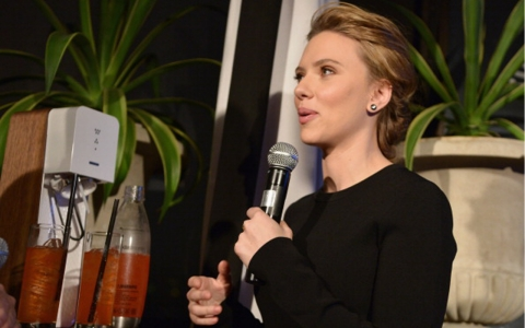Thumbnail image for Criticism as Scarlett Johansson becomes new face of SodaStream