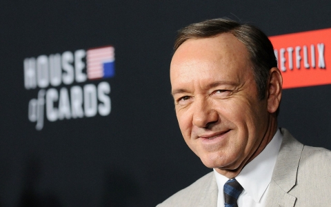 "Actor Kevin Spacey attends a screening of ""House Of Cards."""