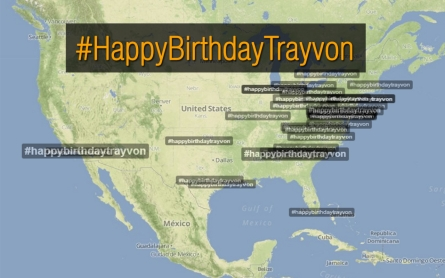 Twitter users commemorate Trayvon Martin's 19th birthday