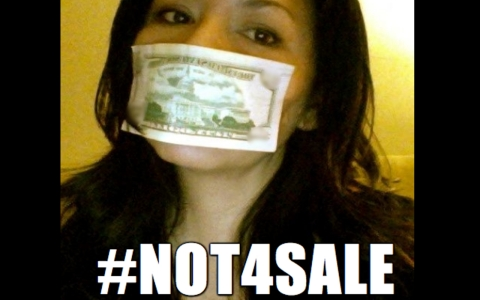 Not for Sale campaign.