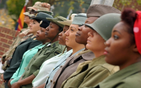 Proposed updates to Army grooming policies are being called into question over its ban on natural hairstyles common among women of color.