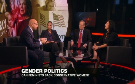 Could feminists vote for a conservative woman as President?