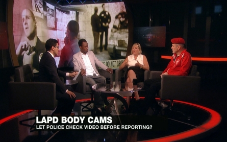 Should police be able to see body cam footage before writing their report?