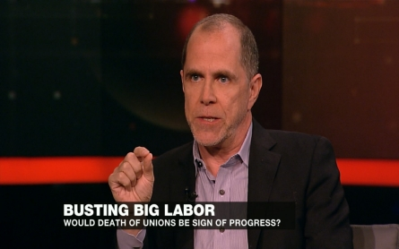 Would the death of US labor unions be a sign of progress?